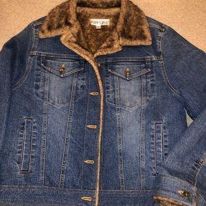 Medium Marvin Richards denim jacket EUC